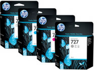 HP 727 Tinta Plotter HP Original