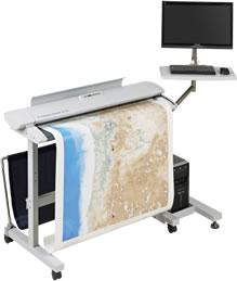 jual scanner A0 colortracSC36 murah